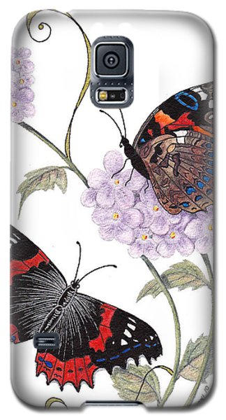 Just Living Is Not Enough Galaxy S5 Case