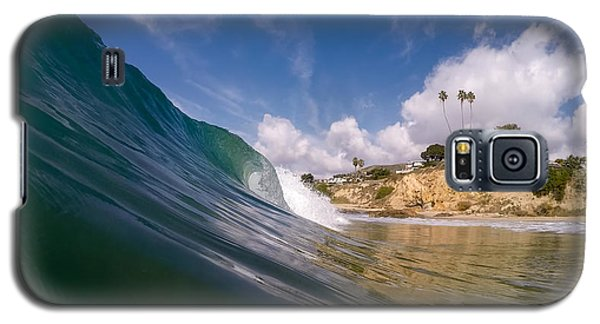 Just Me And The Waves Galaxy S5 Case by Sean Foster