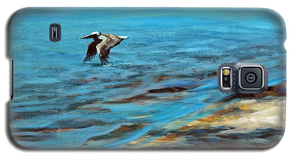 Galaxy S5 Case featuring the painting Just Passing By by Suzanne McKee