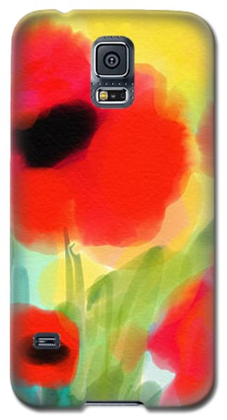 Just Poppies Galaxy S5 Case