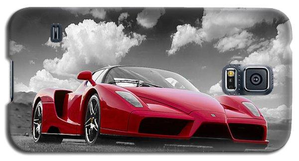 Just Red 1 2002 Enzo Ferrari Galaxy S5 Case