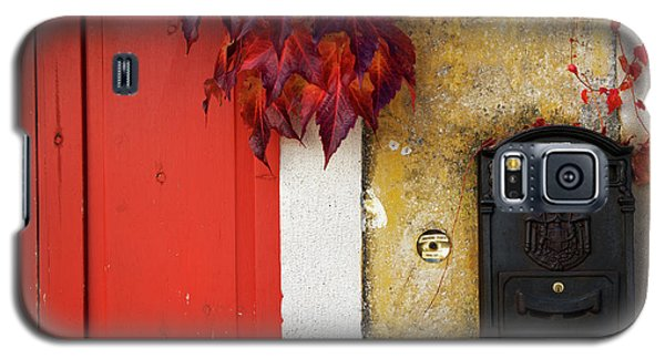 Galaxy S5 Case featuring the photograph Just Red by Yuri Santin
