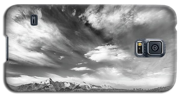 Galaxy S5 Case featuring the photograph Just The Clouds by Jon Glaser