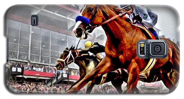 Justify Wins Preakness Galaxy S5 Case