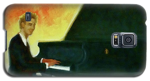 Justin Levitt Red Black Yellow Galaxy S5 Case