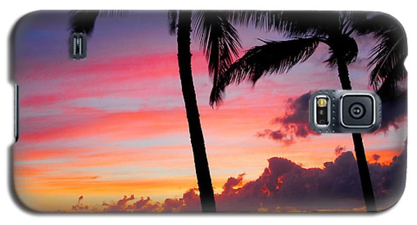 Kaanapali Sunset  Kaanapali  Maui Hawaii Galaxy S5 Case by Michael Bessler