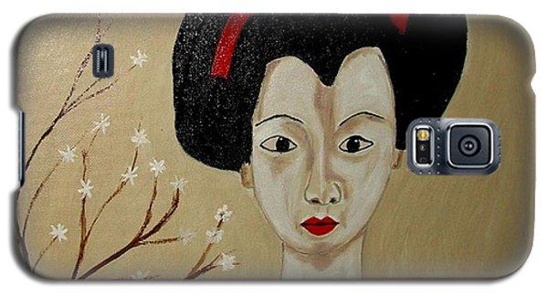 Kabuki Girl Galaxy S5 Case