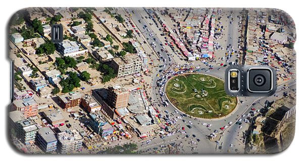Kabul Traffic Circle Aerial Photo Galaxy S5 Case
