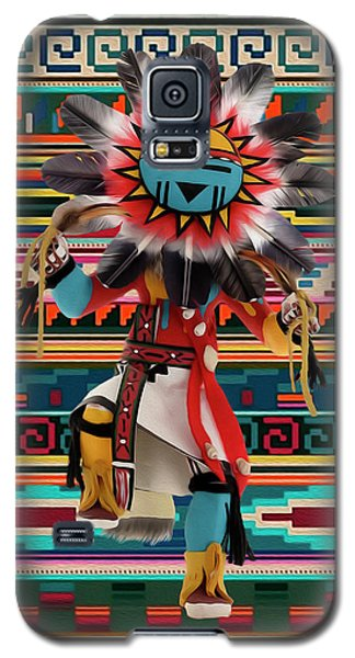 Kachina Doll Art Galaxy S5 Case