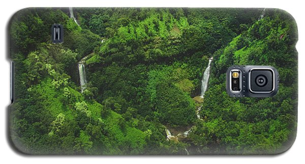 Kahili Falls Aerial Galaxy S5 Case