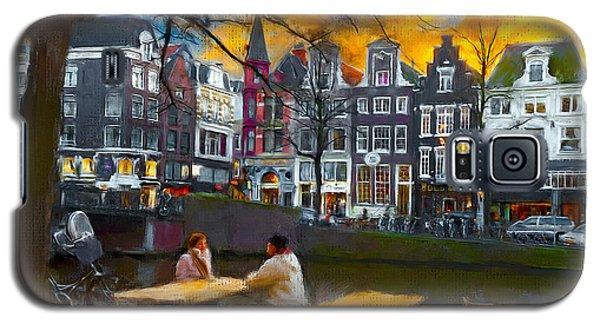 Galaxy S5 Case featuring the photograph Kaizersgracht 451. Amsterdam by Juan Carlos Ferro Duque