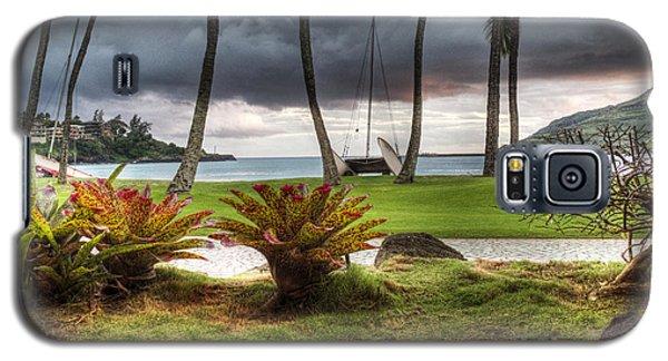 Kalapaki Beach Kauai Galaxy S5 Case by Joe  Palermo