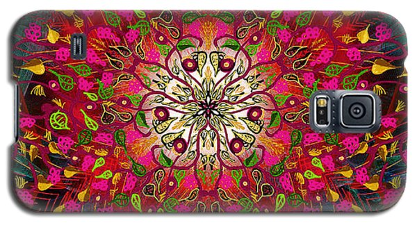Kaleidoflower#7 Galaxy S5 Case