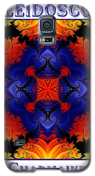 Galaxy S5 Case featuring the digital art Kaleidoscope 1 by Charmaine Zoe