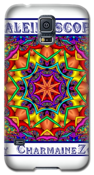 Galaxy S5 Case featuring the digital art Kaleidoscope 2 by Charmaine Zoe