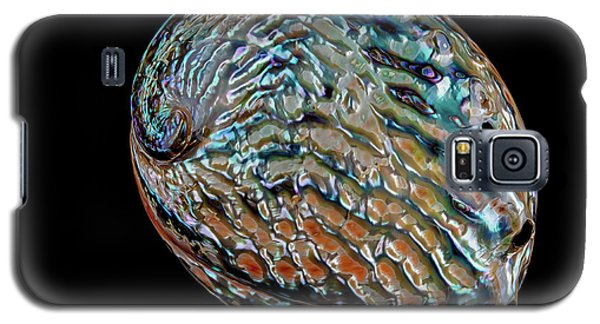 Galaxy S5 Case featuring the photograph Kaleidoscope Abalone by Rikk Flohr