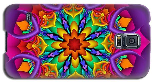 Kaleidoscope Flower 01 Galaxy S5 Case