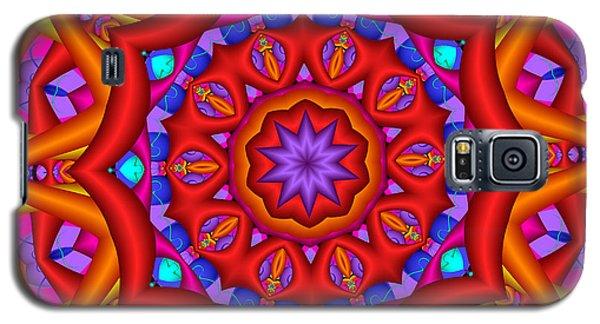 Kaleidoscope Flower 02 Galaxy S5 Case