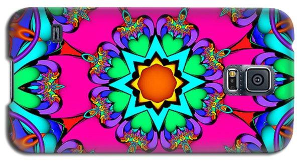 Kaleidoscope Flower 03 Galaxy S5 Case