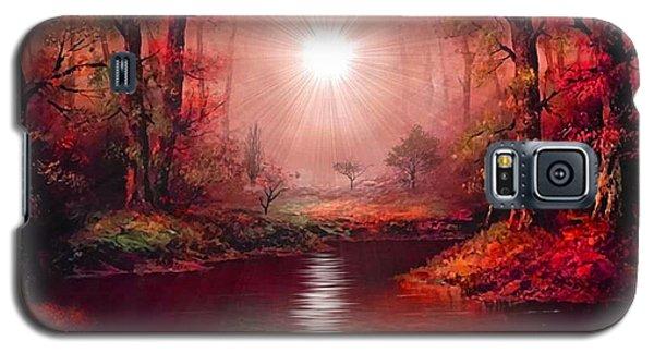 Kaleidoscope Forest Galaxy S5 Case