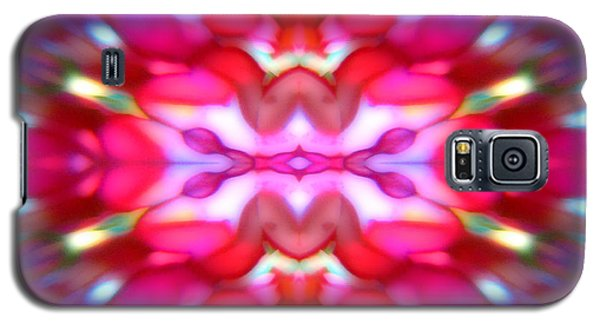 Galaxy S5 Case featuring the photograph Kaleidoscope Wonder by Barbara Tristan