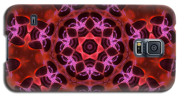 Kaleidoscope With Seven Petals Galaxy S5 Case by Ernst Dittmar