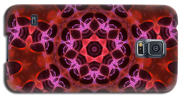 Kaleidoscope With Seven Petals Galaxy S5 Case