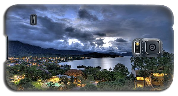 Kaneohe Bay Night Hdr Galaxy S5 Case