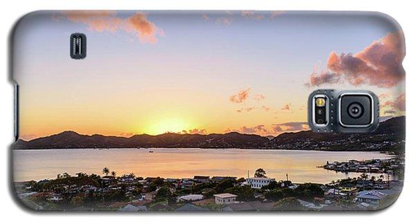 Kaneohe Bay Sunrise 1 Galaxy S5 Case