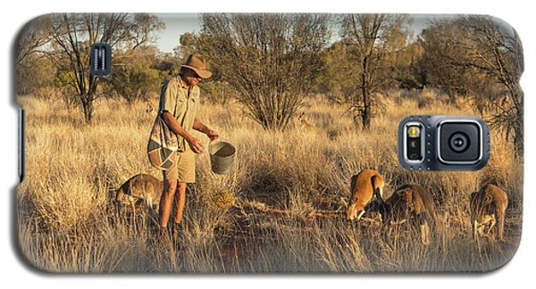 Kangaroo Sanctuary Galaxy S5 Case