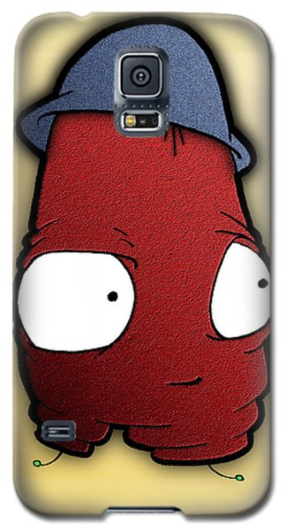 Galaxy S5 Case featuring the digital art Kangol Kool by Uncle J's Monsters