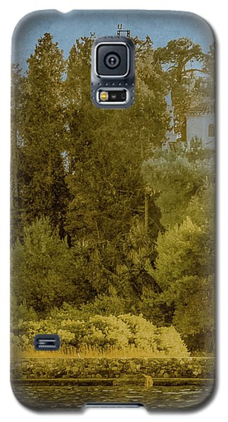 Galaxy S5 Case featuring the photograph Kanoni, Corfu, Greece - Protected by Mark Forte