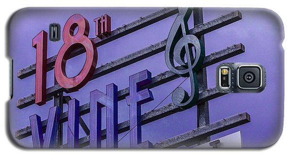 Kansas City 18th And Vine Sign Galaxy S5 Case