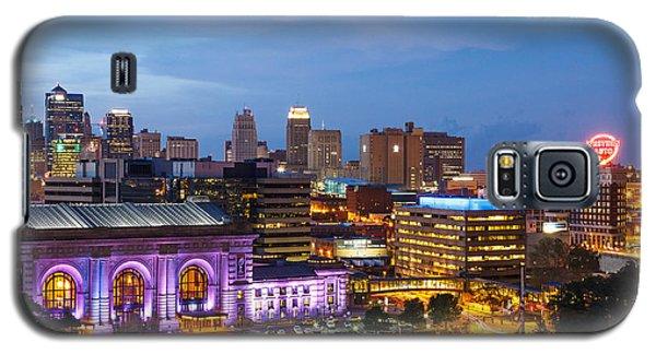 Kansas City Night Sky Galaxy S5 Case