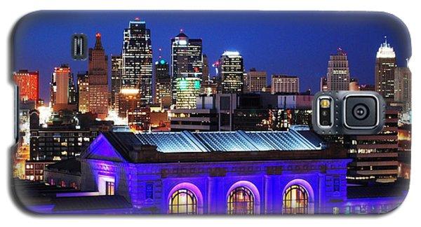 Kansas City Skyline At Night Galaxy S5 Case