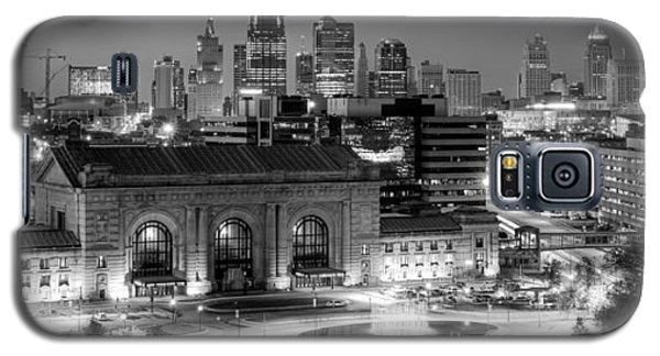 Kansas City Skyline Bw Galaxy S5 Case