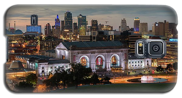 Kansas City Summer Sunset Galaxy S5 Case