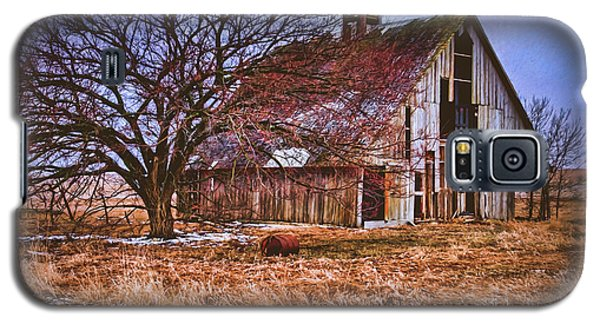 Kansas Countryside Old Barn Galaxy S5 Case