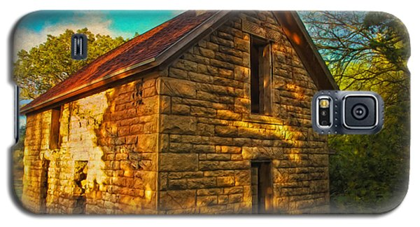 Kansas Countryside Stone House Galaxy S5 Case
