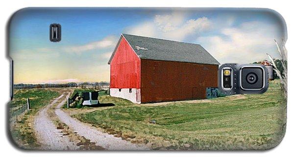 Galaxy S5 Case featuring the photograph Kansas Landscape II by Steve Karol