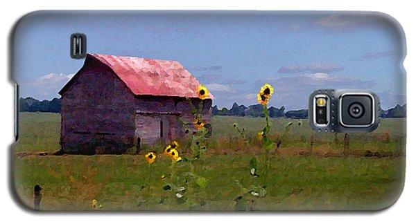 Galaxy S5 Case featuring the photograph Kansas Landscape by Steve Karol