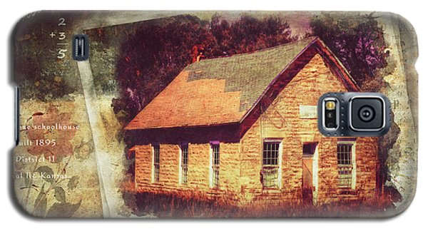 Kansas Old Stone Schoolhouse Galaxy S5 Case