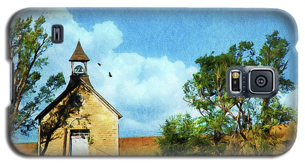 Kansas Prairie Schoolhouse Galaxy S5 Case