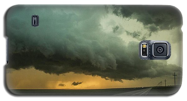 Kansas Storm Chase Bust Day 004 Galaxy S5 Case