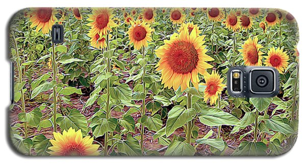 Kansas Sunflower Field Galaxy S5 Case