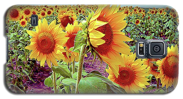 Kansas Sunflowers Galaxy S5 Case