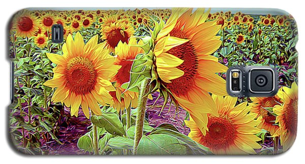 Kansas Sunflowers Galaxy S5 Case