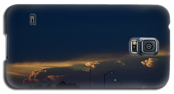 Kansas Sunset Angel Galaxy S5 Case