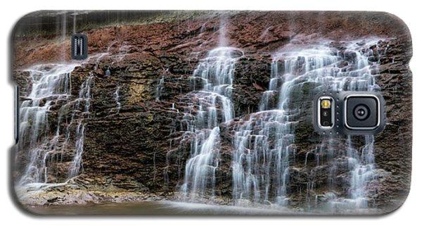 Kansas Waterfall 3 Galaxy S5 Case by Jay Stockhaus
