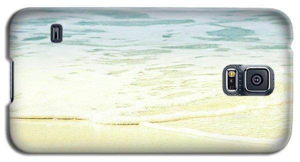 Galaxy S5 Case featuring the photograph Kapalua Beach Dream Colours Sparkling Golden Sand Seafoam Maui by Sharon Mau